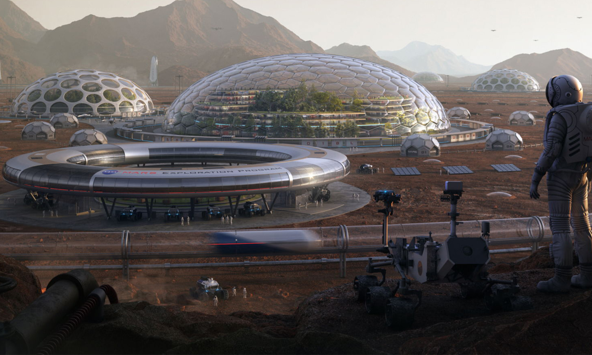 These Stunning Designs Show What Our Future on Mars Might Look Like | Space