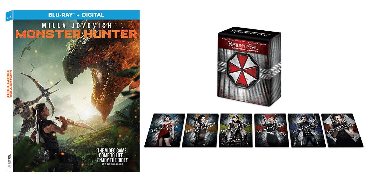 Участвуйте в розыгрыше CinemaBlend Monster Hunter и Resident Evil в розыгрыше призов