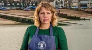 'Whitstable Pearl' stars Kerry Godliman as restaurant owner Pearl Nolan.