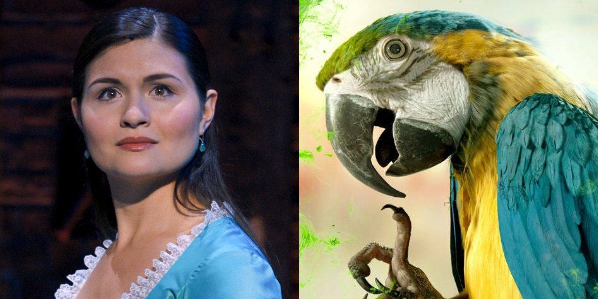 Phillipa Soo and Thelma