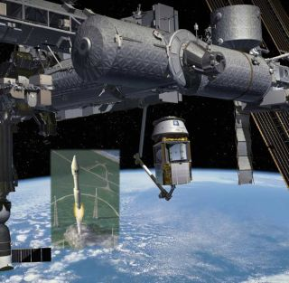 Private Spaceflight Firm Takes Aims at NASA Cargo Flights