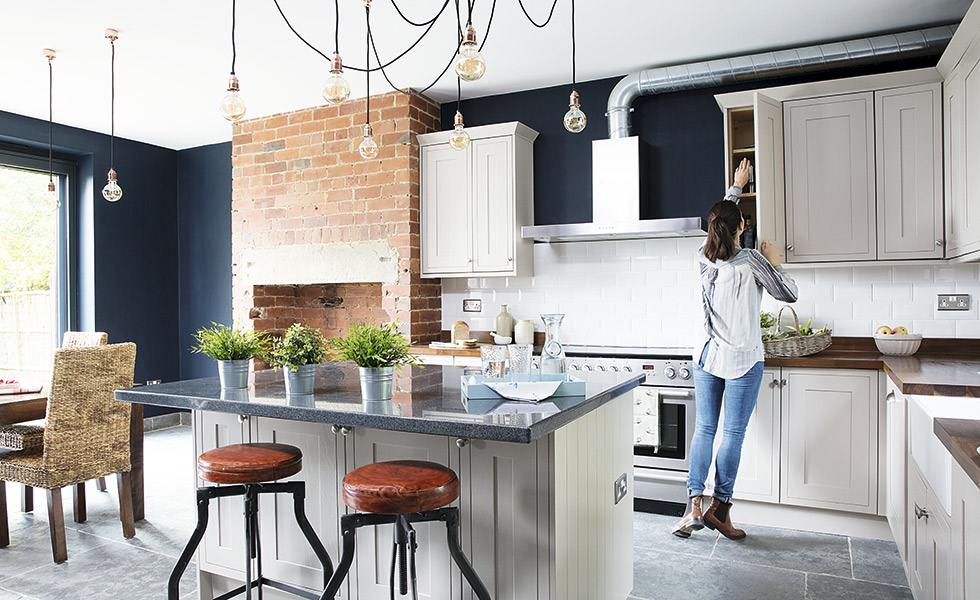 Awe Inspiring Kitchen Case Study Creating An Industrial Style Kitchen Home Interior And Landscaping Ponolsignezvosmurscom