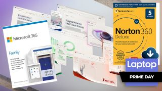 Microsoft 365 Family and Norton 360 Deluxe Prime Day deal