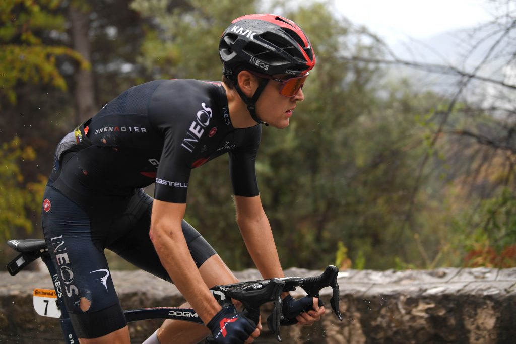 Pavel Sivakov (Ineos Grenadiers) was one of several riders to crash during stage 1