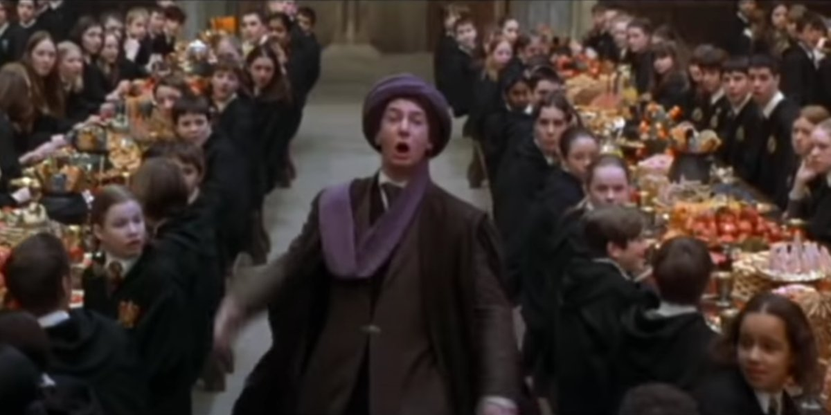 Ian Hart in Harry Potter And The Sorcerer's Stone