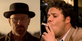 That Time Seth Rogen Got Way Too High At The Golden Globes And Bryan Cranston Got Concerned