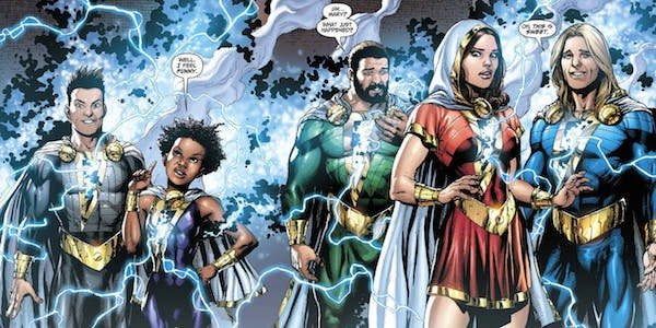 shazam family dc comics