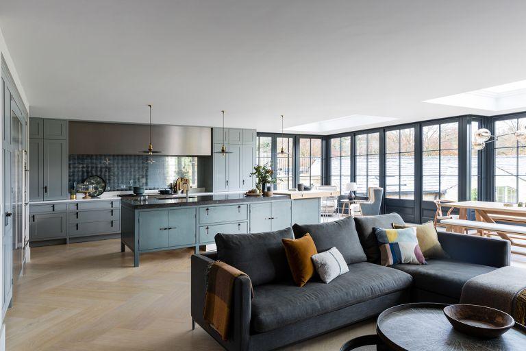 open plan kitchen extensions