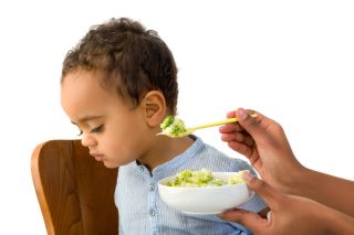 broccoli, toddler, baby