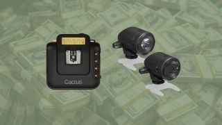 Save 58% on this Cactus Wireless Transceiver V6 and LV5 Laser Trigger Kit