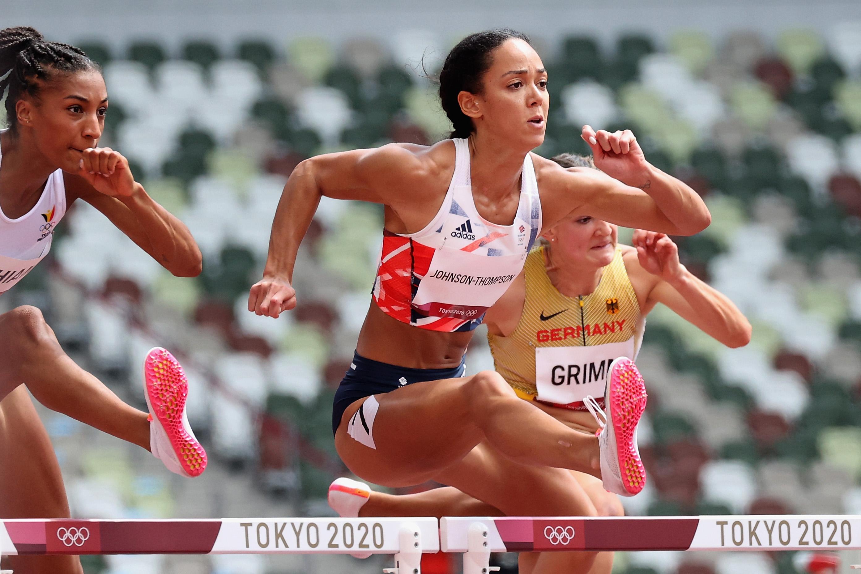 Katarina Johnson-Thompson at the 2020 Tokyo Olympics