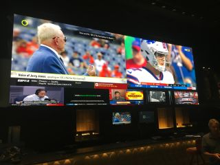 Peerless-AV integration at Epic Sports Bar