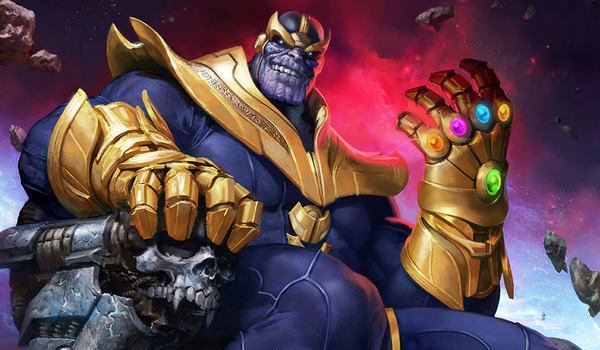 Thanos in the Marvel Comics