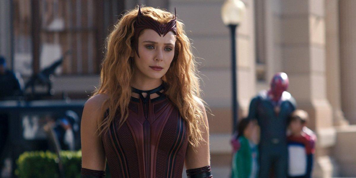 Elizabeth Olsen as Scarlet Witch in WandaVision