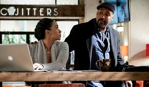 Joe West Iris West Allen Jesse L. Martin Candace Patton The Flash The CW