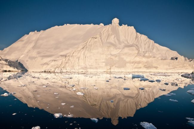 Greenland iceberg in Disko Bay