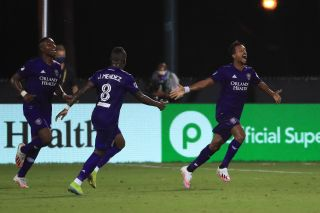 Orlando City FC in the MLS Is Back Tournament in Orlando.