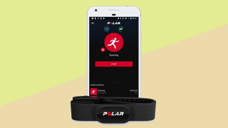 Polar H10 review - app and band