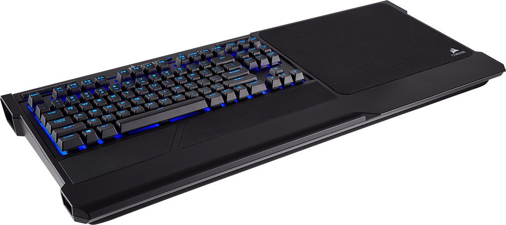 Corsair launches a wireless mechanical keyboard for gaming on the couch