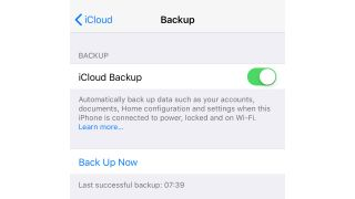 How to back up an iPhone