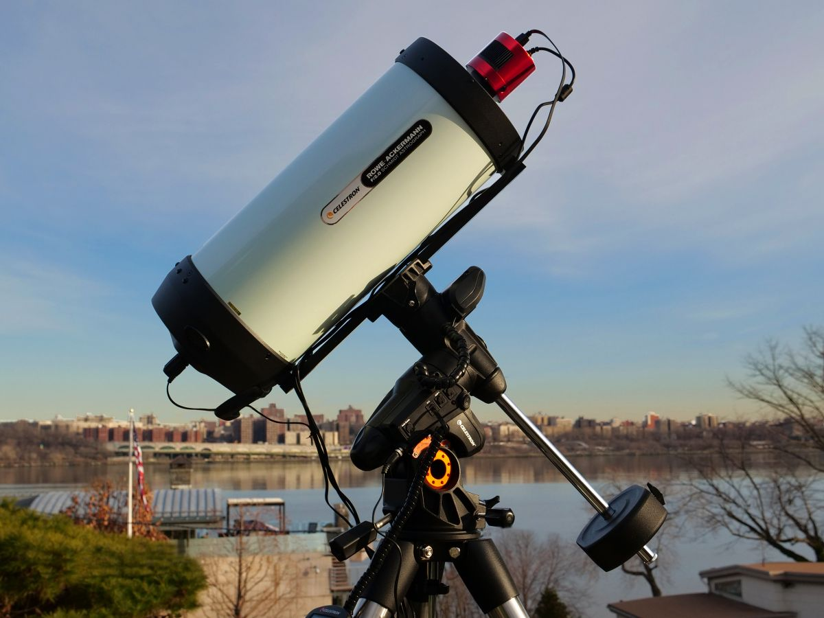 Video astronomy: Bring the universe to your friends with Celestron's RASA 8 telescope