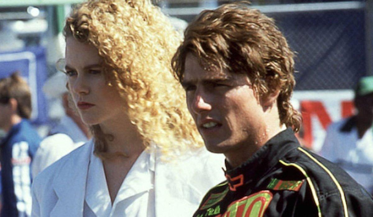 Nicole Kidman and Tom Cruise in Days of Thunder