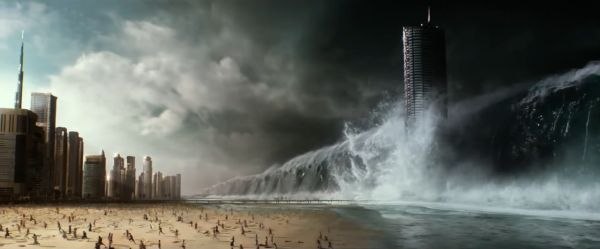 Tidal wave in Geostorm