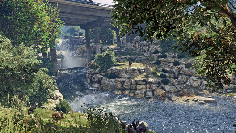 GTA 5 PC Screenshots Show Off Updated Graphics #32601