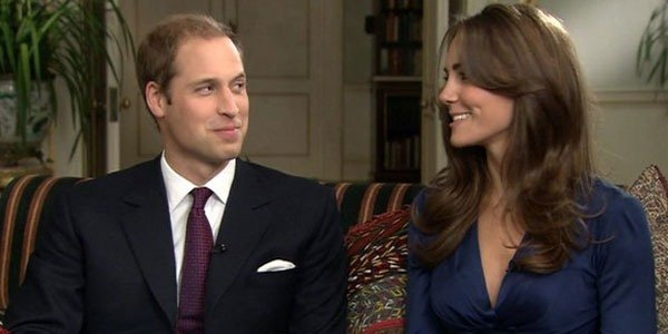 Prince William Kate Middleton ITN interview