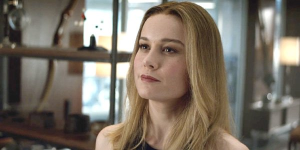 Brie Larson Captain Marvel in Avengers: Endgame trailer