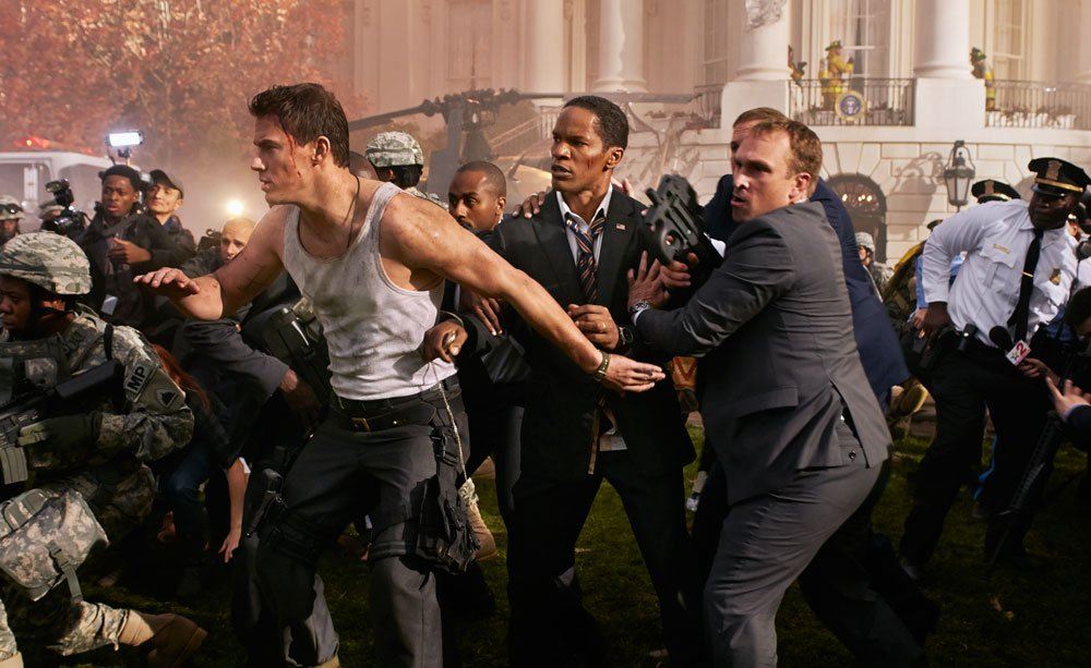 On The Set Of White House Down, Joining Channing Tatum On An Epic Race From Script To Screen #7112