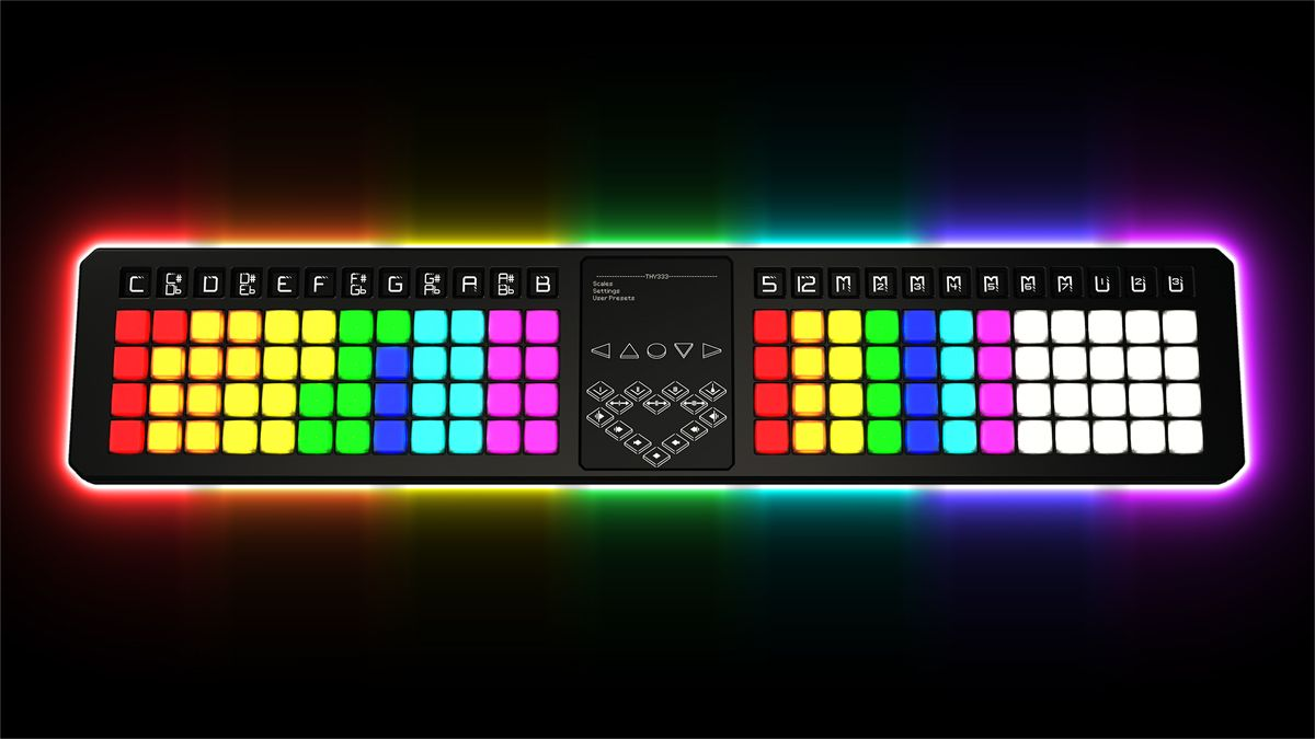 TheoryBoard is a music theory MIDI controller that could change the way you write songs