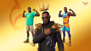 LeBron James skins in Fortnite