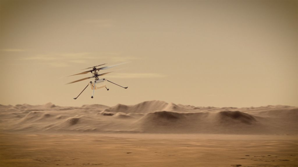 The Mars helicopter on NASA's Perseverance rover could fly in early April
