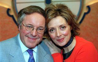 Richard Whiteley and Carol Vorderman