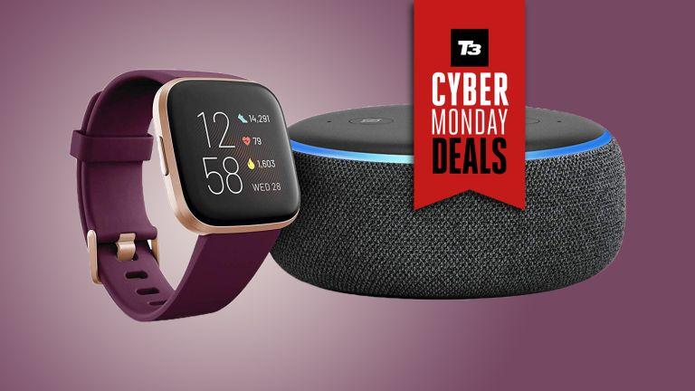 cyber monday fitbit versa deal cyber monday amazon deal echo dot bundle
