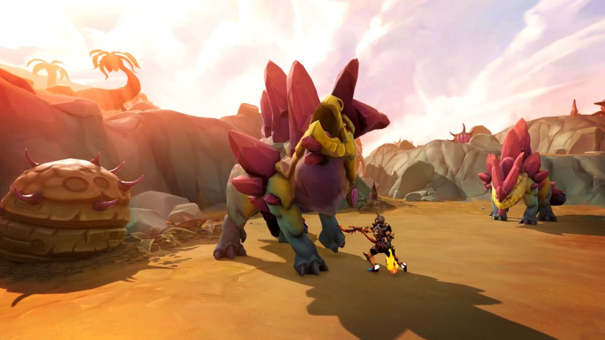RuneScape gets dinosaurs in a prehistoric update | PC Gamer