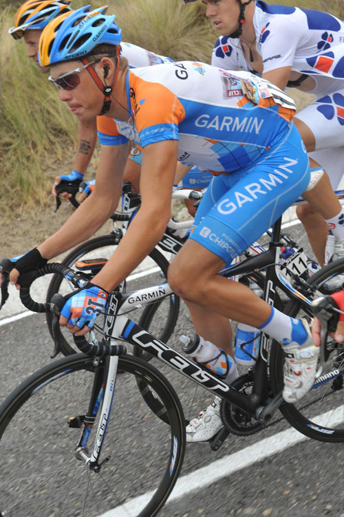Tom Danielson, Vuelta a Espana 2009, stage eight