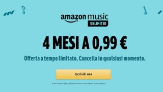 Amazon Music Unlimited in offerta