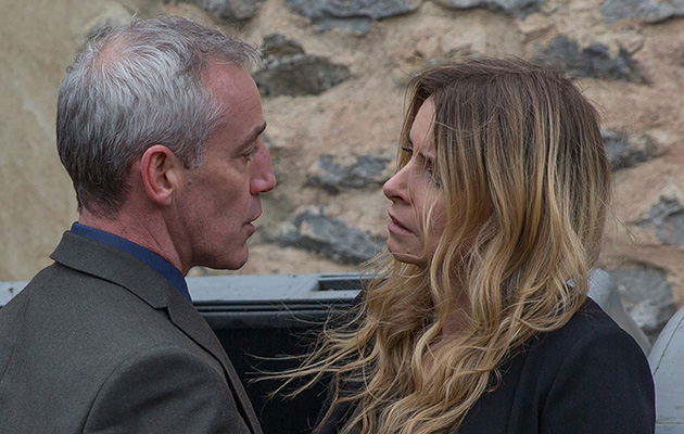 Emmerdale spoilers! Charity Dingle fights back when DI Bails threatens her