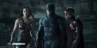 Wonder Woman, Batman, and Flash