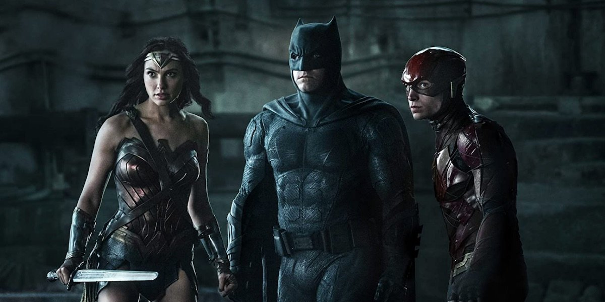 Wonder Woman, Batman, and Flash
