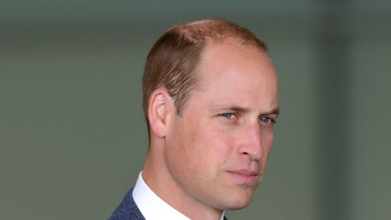 WOKING, UNITED KINGDOM - SEPTEMBER 12: (EMBARGOED FOR PUBLICATION IN UK NEWSPAPERS UNTIL 48 HOURS AFTER CREATE DATE AND TIME) Prince William, Duke of Cambridge visits McLaren Automotive at the McLaren Technology Centre on September 12, 2017 in Woking, England. (Photo by Max Mumby/Indigo/Getty Images)