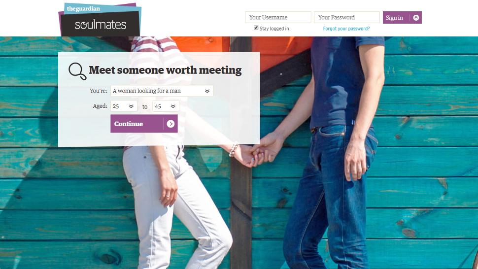 Auf der Suche nach Soulmate Dating-Seite