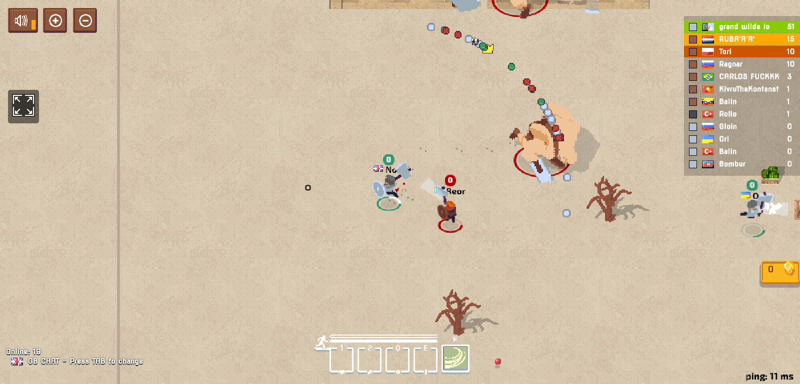 Best Browser Games: Wilds.io