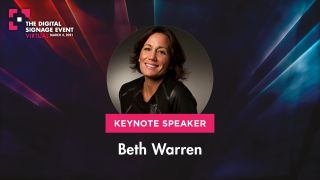 Beth Warren will keynote The Digital Signage Event