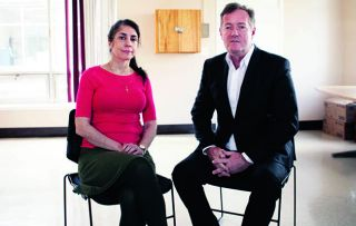 Sex and death come together in the final programme of this series as Piers Morgan interviews Sheila Davalloo