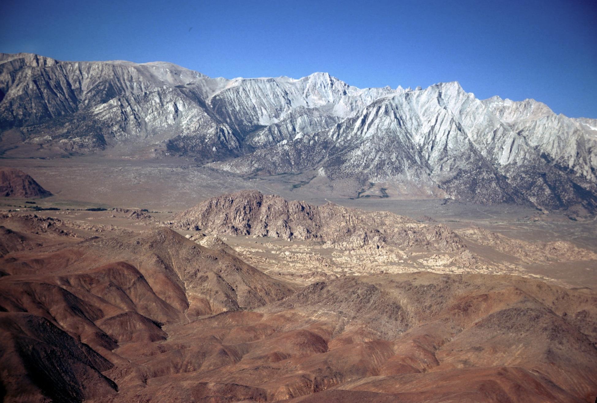 Sierra Nevada Mountain Range Rises Rapidly Live Science