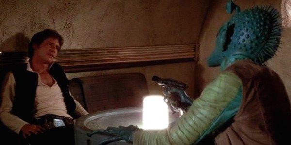 Han Solo and Greedo