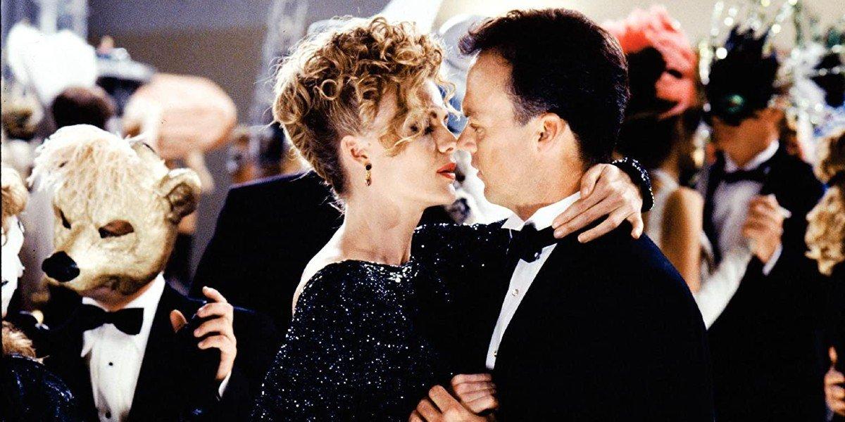 Michael Keaton and Michelle Pfeiffer in Batman Returns